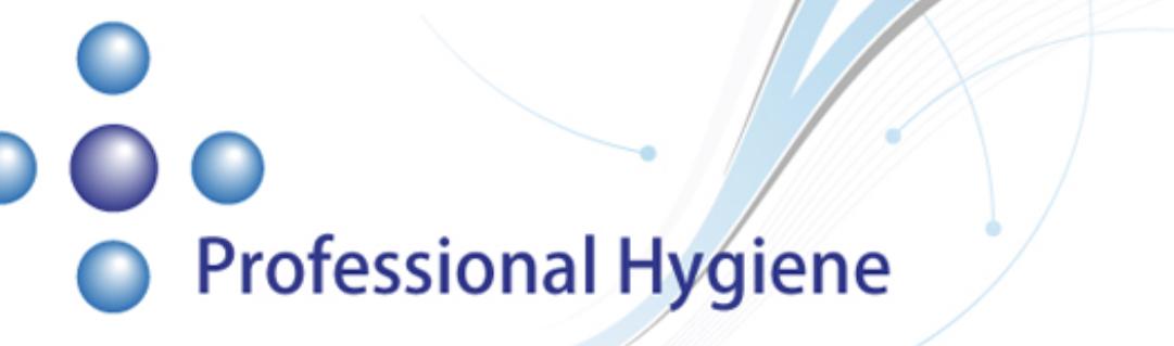 Professional Hygiene Logo